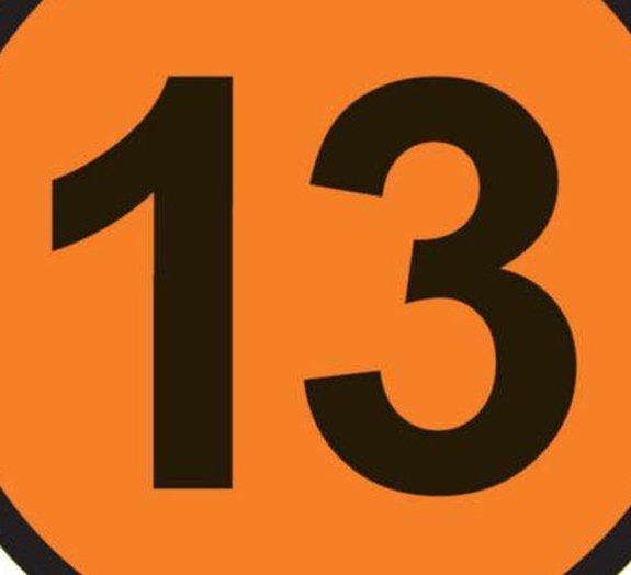 Por que sentimos medo do número 13?