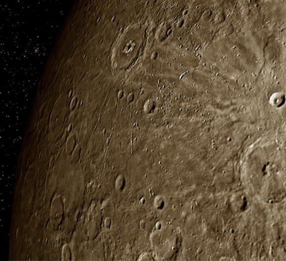 NASA encontra água em Mercúrio