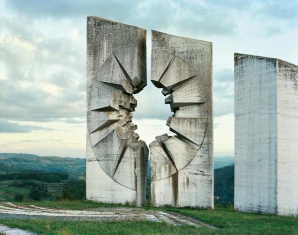 Monumentos de Spomenik, antiga Iugoslávia