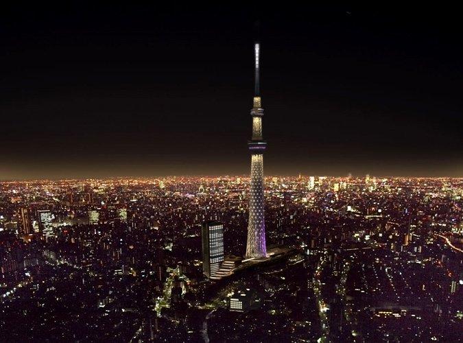 Conheça a Tokyo Sky Tree, a torre mais alta do mundo