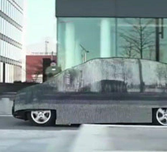 Mercedes cria carro 'invisível' que não agride o meio ambiente