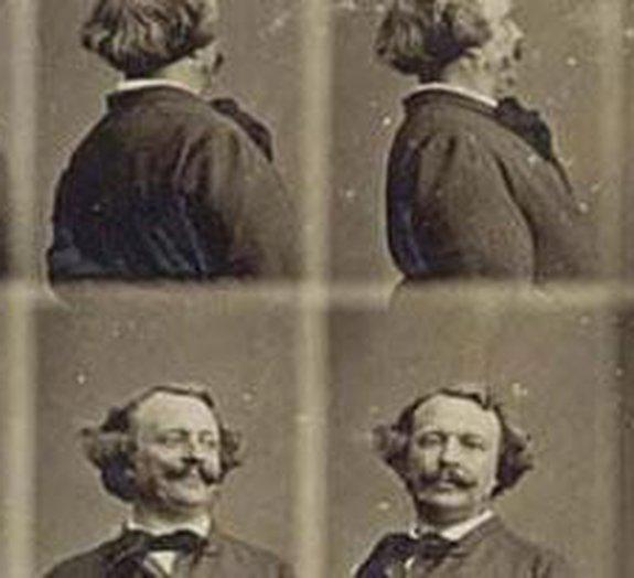 Veja um autorretrato giratório capturado em 1865