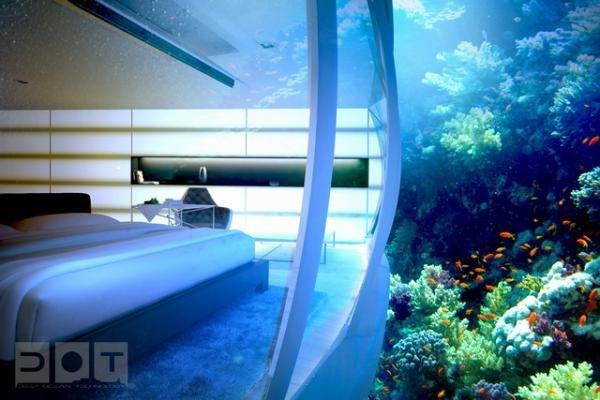 Hotel submerso promete mudar a vista de Dubai