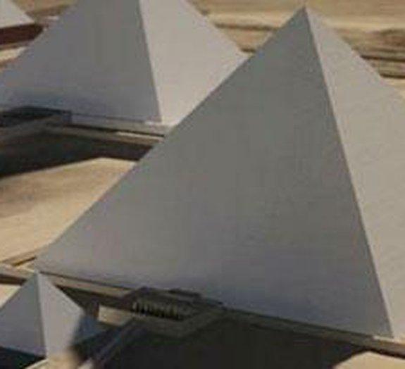Visite as pirâmides do Egito online e em 3D