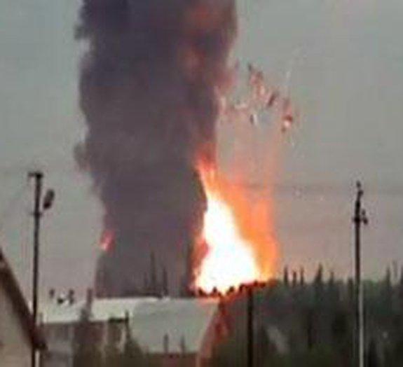Cinegrafista russo registra onda de choque após explosão [vídeo]