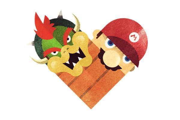 Mario x Bowser