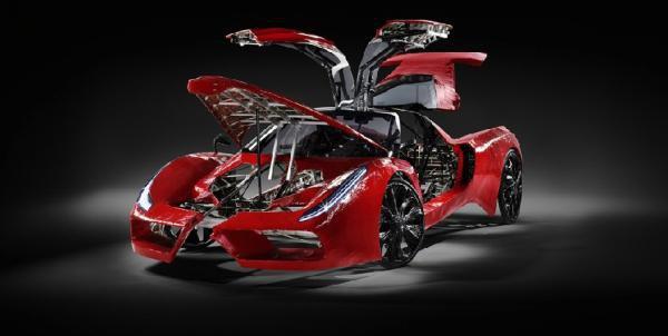 Fahrradi Farfalla FXX: Ferrari ou bicicleta?