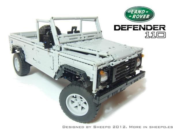 Conheça o Land Rover Defender totalmente feito de LEGO [vídeo]