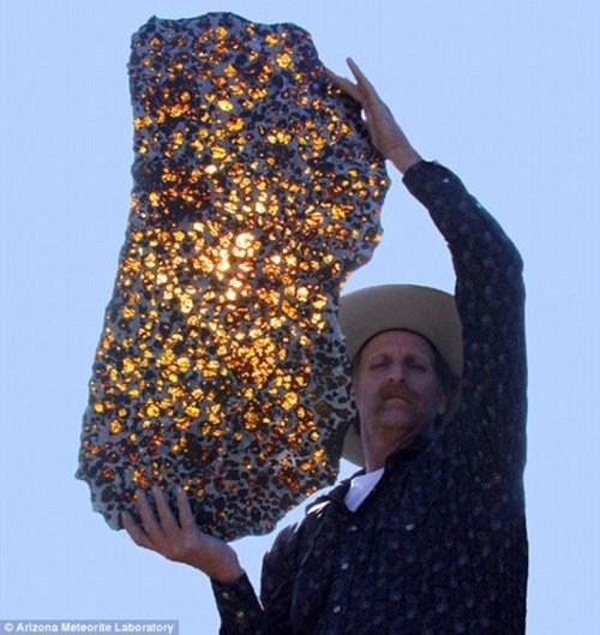 De outro mundo: conheça a beleza do meteorito Fukang