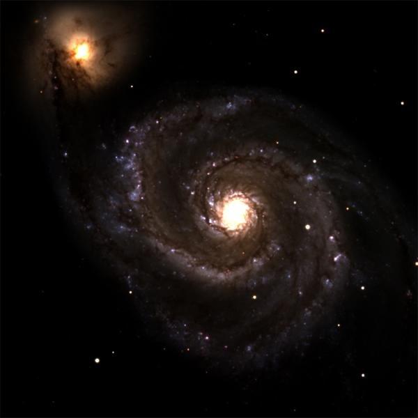 Galáxia do Redemoinho (M51)