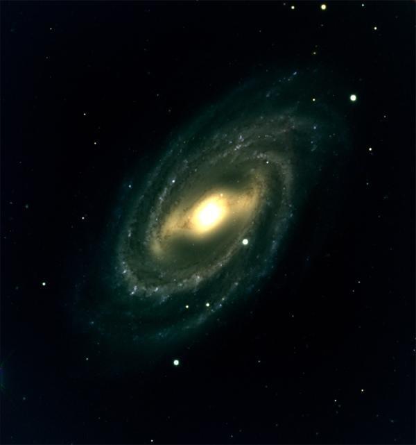 Galáxia em espiral M109