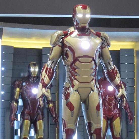 Conheça a nova armadura do Homem de Ferro