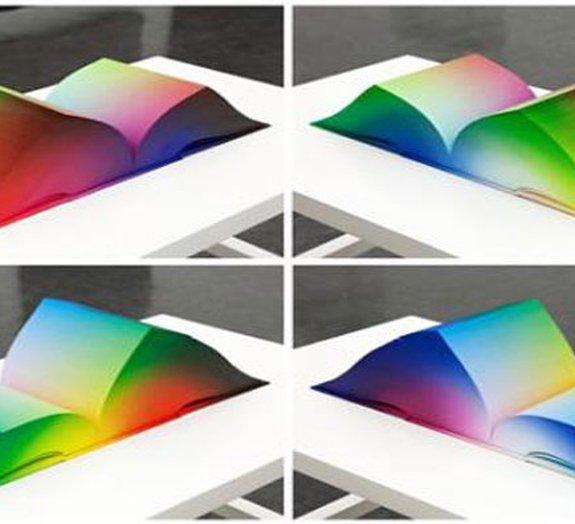 Livro reúne todas as cores RGB que existem