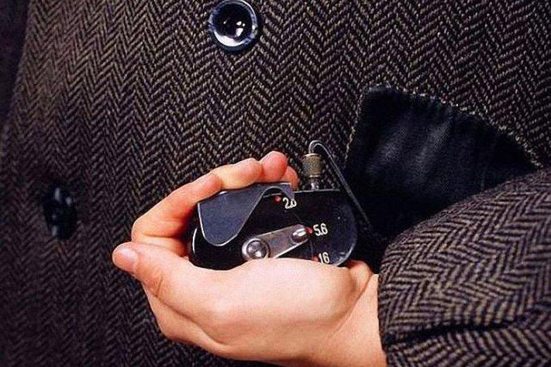 1 - Câmera escondida em uma jaqueta: