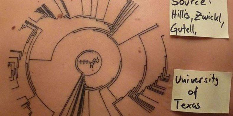 15 tatuagens geeks inspiradas na ciência [galeria] - Mega Curioso