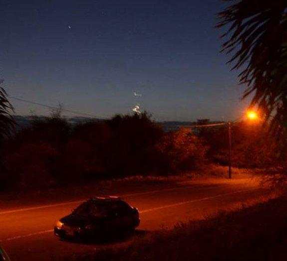 Misterioso OVNI é flagrado no céu do Havaí