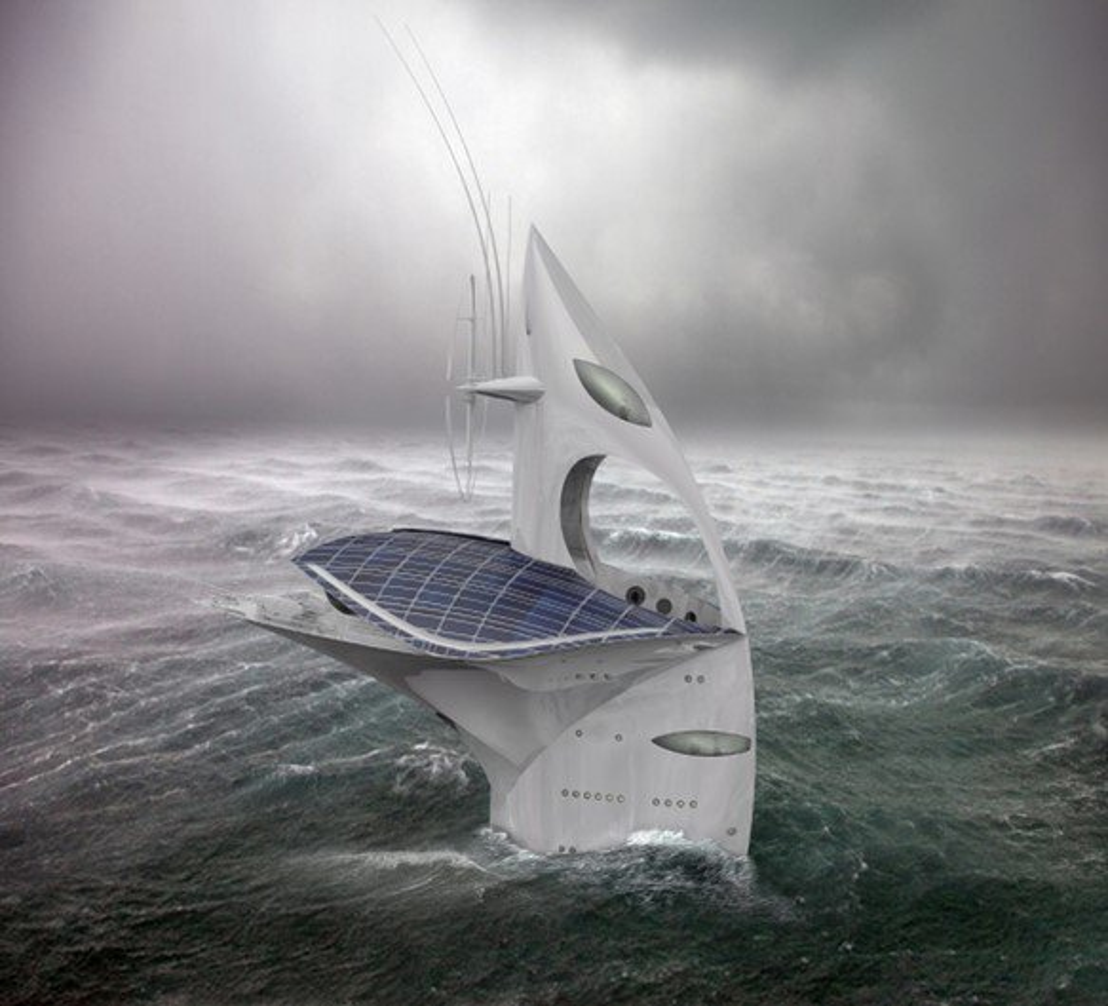 SeaOrbiter: o laboratório que parece saído da ficção científica [imagens]