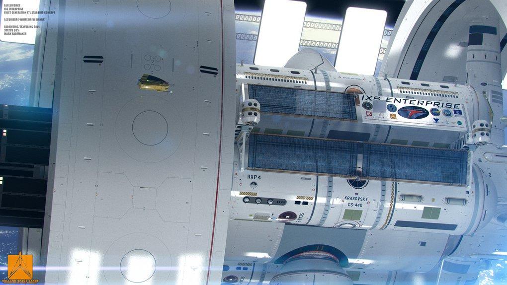 NASA se inspira em Enterprise de Star Trek para criar protótipo de nave