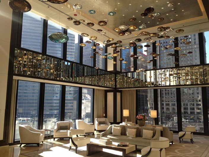 6 - The Langham, Chicago (EUA)