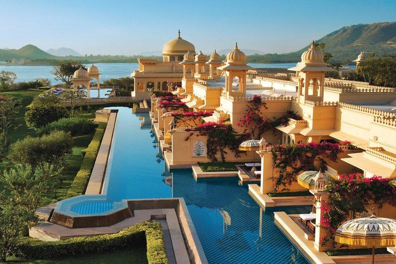 9 - Oberoi Udaivilas, Udaipur, Índia
