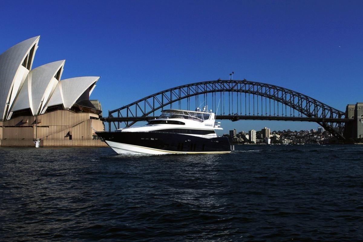 Interiores luxuosos: mostra de iates em Sydney deixa qualquer um babando