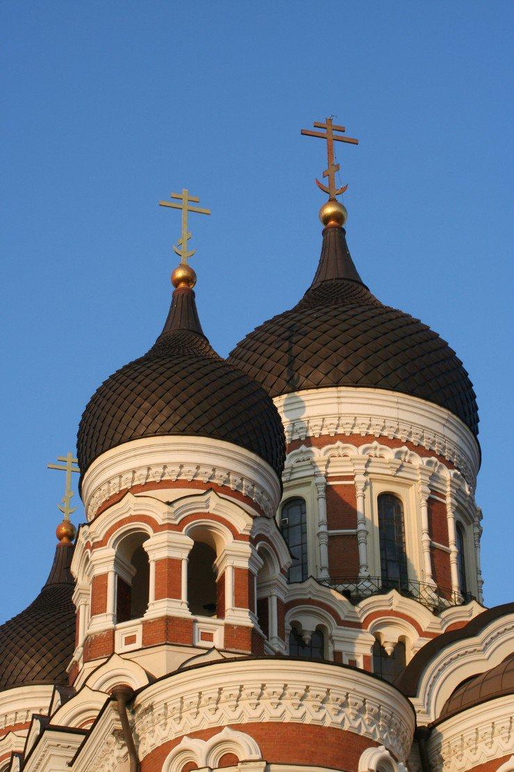 Detalhes da catedral Aleksand Nevsky