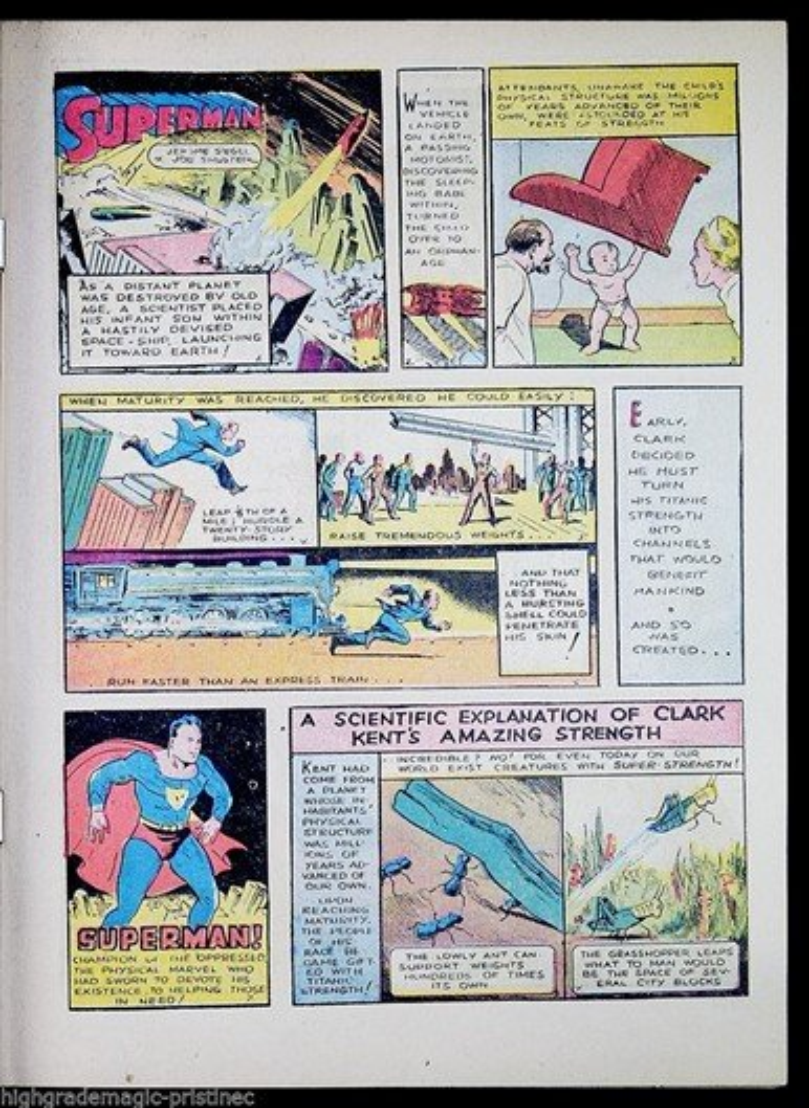 Leilão da edição número 1 de HQ do Super-Homem já passou dos US$ 2 milhões