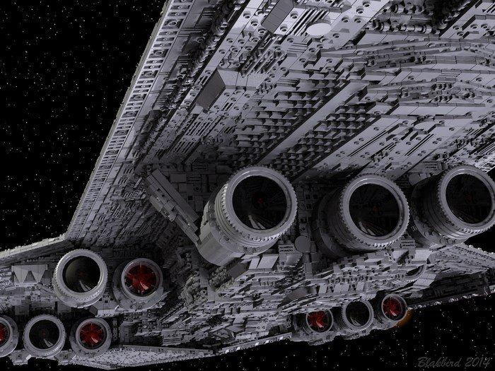 Fã quer criar Star Destroyer de Darth Vader de 4 metros em LEGO [vídeo]