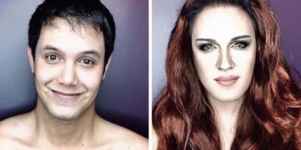 Não é Photoshop! Ator se transforma em celebridades com maquiagem - Mega Curioso