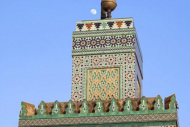 Minarete da Madraça Bou Inania