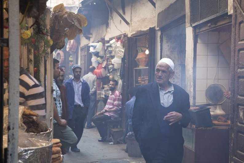 Um dos muitos souks de Fez