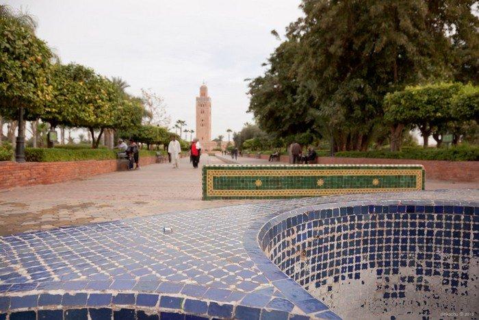 Parque Lalla Hasna, Marrakesh, Marrocos.