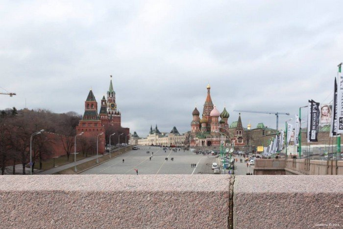 Ponte Bolshoy Moskvoretsky, Moscou.