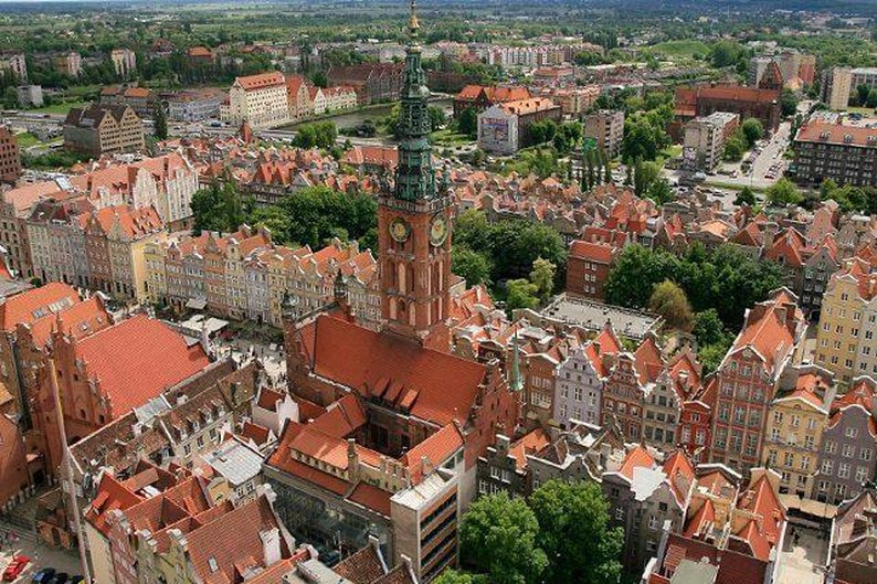 Cidade histórica de Gdansk