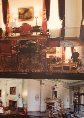 Fotos em exposição mostram mais detalhes dos bastidores de gravação.