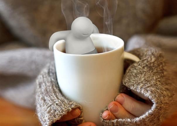 Faz bem à saúde e aos olhos: infusores criativos e curiosidades sobre chá