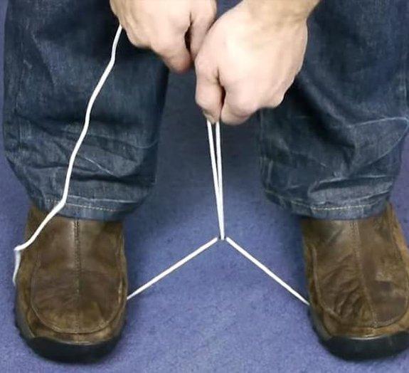 Como cortar uma corda sem um objeto afiado à mão [vídeo]
