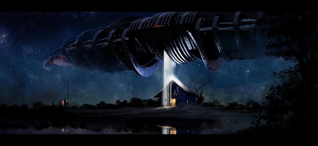 Artista cria design conceitual para as naves espaciais do futuro; veja