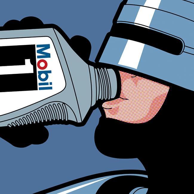 Ilustrador faz desenhos de super-heróis em situações cotidianas