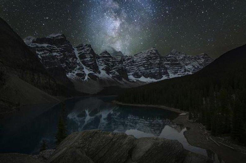 Moraine Lake, Banff National Park - Alberta, Canadá