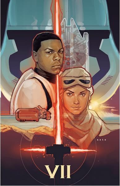 Confira 8 artes de 'Star Wars: The Force Awakens' feitas por fãs