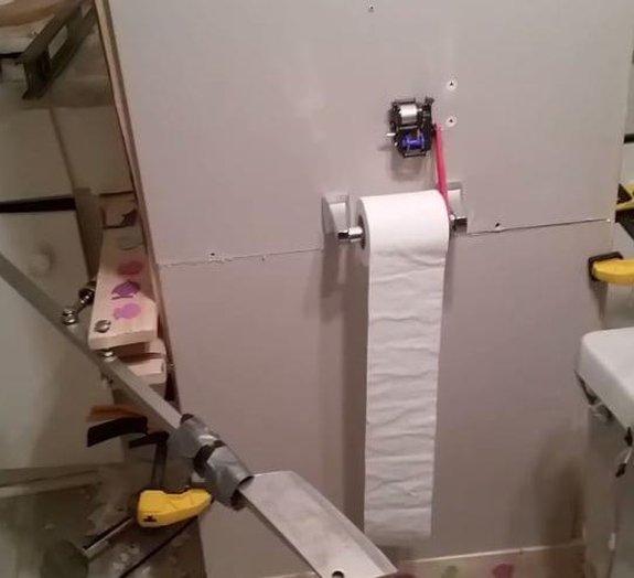 Invenção maluca: o cortador automático de papel que faltava no seu banheiro