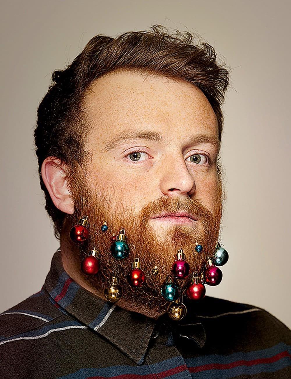 Sucesso de vendas: conheça os enfeites de Natal feito para os barbudos