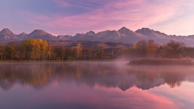 Lago em Tatranska Štrba