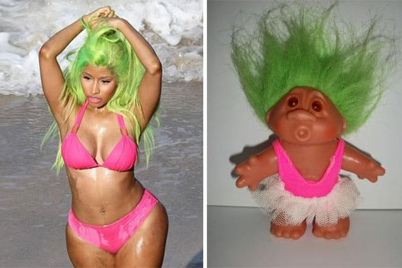 Nicki Minaj e boneca