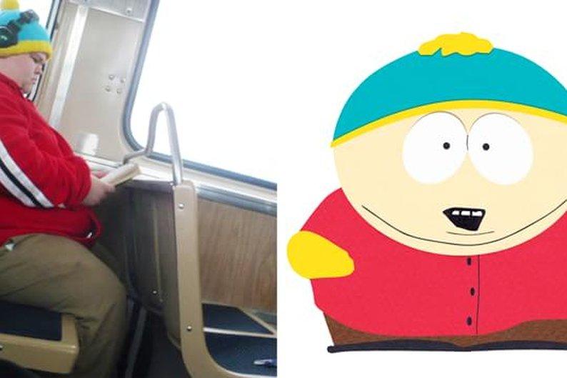 Cartman (personagem de South Park) da vida real