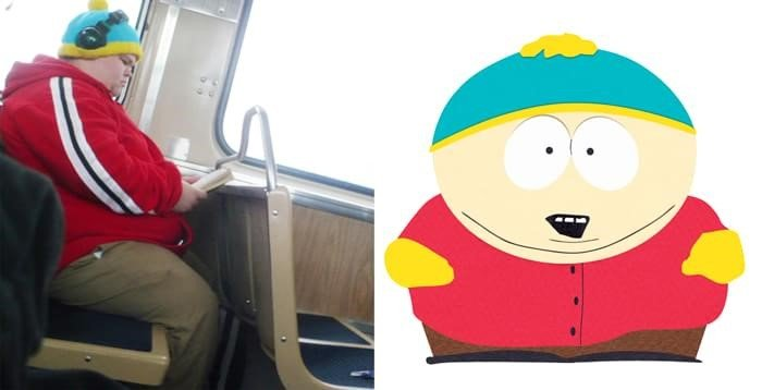 Cartman (personagem de South Park) da vida real