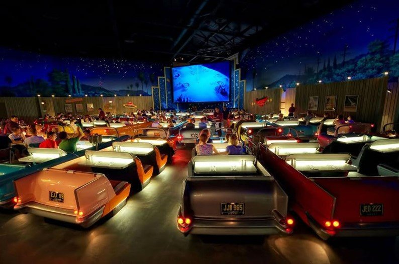 Sci-fi Dine-in Theater, Disney Hollywood Studios