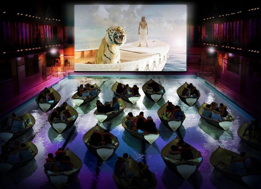 Movie Theater em Paris