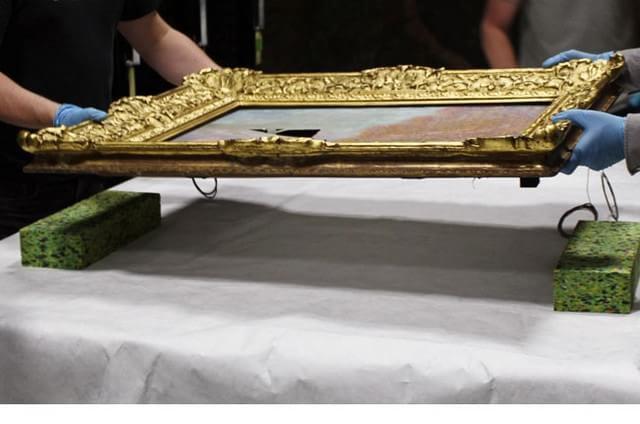 Quadro de Monet leva 3 anos para ser restaurado – entenda como é o processo